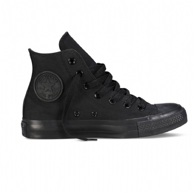Giày Sneaker Convese Chuck Taylor All Star Hi Full Black