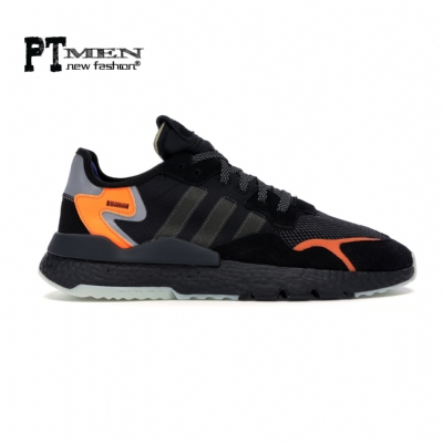 Giày Sneaker Adidas Nite Jogger 2019 Core Black/Orange
