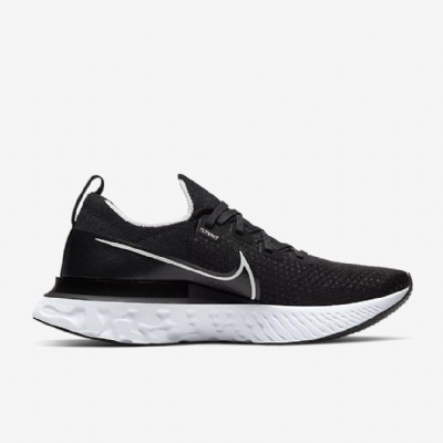 Giày Sneaker Nike Epic React Infinity Run Flyknit Black White