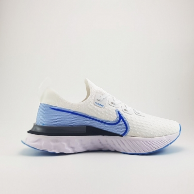 Giày Sneaker Nike Epic React Infinity Run Flyknit Blue White