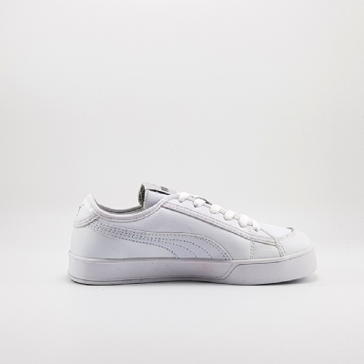 Giày Sneaker Puma Smash V2 Vulc Leather Full White