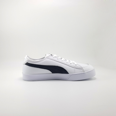 Giày Sneaker Puma Smash V2 Vulc Leather White Black