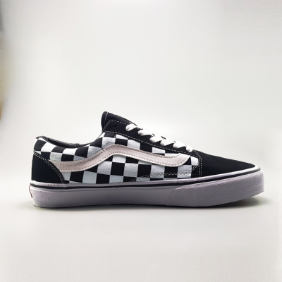 Giày Sneaker Vans Old Skool Checkerboard