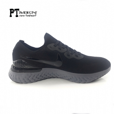 Giày Sneaker Nike Epic React Flyknit 2 Black Anthracite